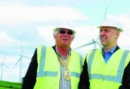 Little Raith wind farm officially opened by Provost Leishman   Energy and Sustainability   Scoop.it