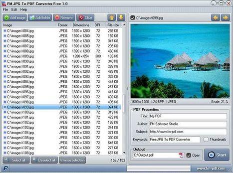 JPG To PDF Converter, convierte imágenes o lotes de ellas a documentos PDF | TIKIS | Scoop.it