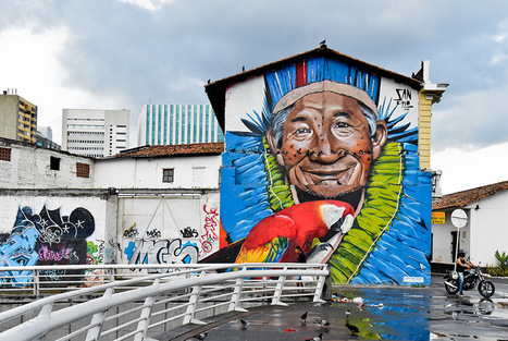 Colombian street artists graffiti for peace | Art daily | Kiosque du monde : Amériques | Scoop.it