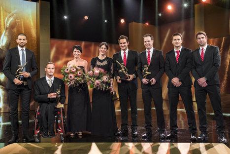 Dominique Gisin et Roger Federer ont été couronnés sportifs suisses de l'année lors des «Credit Suisse Sports Awards» (14 décembre).   On n'arrête pas le progrès !   Scoop.it