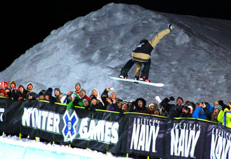 Shaun White encerra Winter X Games 2012 com volta nota 100 | esportes | Scoop.it