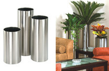 Stainless steel planters,stainless steel pots,plant containers,goverhorticulture | Stainless Steel Planters is the best planter for gardening | Scoop.it