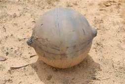 Mysterious 'space ball' crashes down in Namibia grasslands | Quite Interesting News | Scoop.it