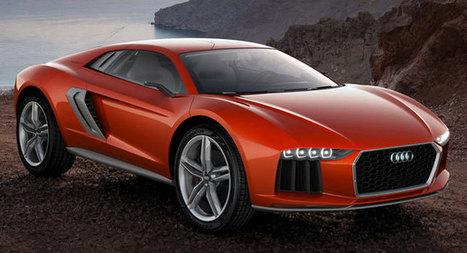 Audi Nanuk Quattro V10 Diesel Concept Has Italdesign Giugiaro Parcour Written All Over It - Carscoops | Automobiles, Supercars - constructeurs automobiles | Scoop.it