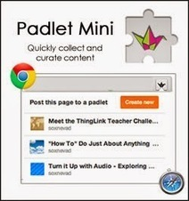 Padlet Mini - Quickly Collect & Curate Content | CLIL VISUAL ARTS AND TECHNOLOGY | Scoop.it