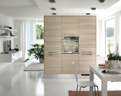 Modern Kitchens with Few Pops of Color   HomeDesignWallpaper.com   news new news   Scoop.it