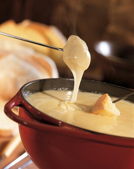 Recette: Fondue au vacherin fribourgeois - Marc-Henri Horner, Fromagerie de Marsens | Yummy's kitchen | Scoop.it