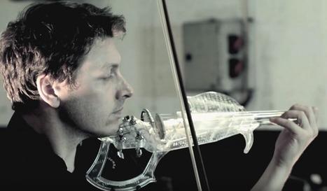3Dvarius : le premier violon électrique imprimé en 3D | Musique classique contemporaine | Scoop.it