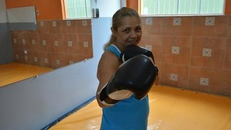 Aos 62 anos, viúva adere kickboxing para sair de depressão e manter forma | Depressão | Scoop.it