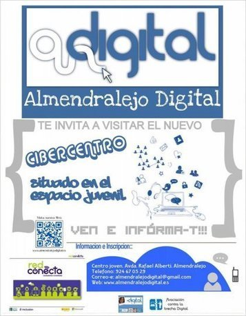 Almendralejo Digital - Nuevo #CIBERCENTRO ADigital- Almendralejo Digital | Almendralejo Digital | Scoop.it