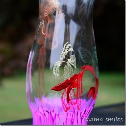 Hand Painted Glass Vases - Mama Smiles - Joyful Parenting | Raising Children | Scoop.it