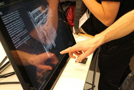 MEKAVIZ, une application 3D multi-touch pour visualiser des modèles 3D   Cabinet de curiosités numériques   Scoop.it
