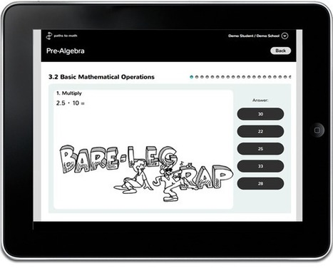 Paths to Math | Math Learning Environment | Tablet opetuksessa | Scoop.it