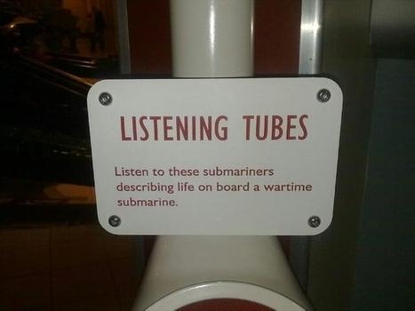 Listening Tube   DESARTSONNANTS - CRÉATION SONORE ET ENVIRONNEMENT - ENVIRONMENTAL SOUND ART - PAYSAGES ET ECOLOGIE SONORE   Scoop.it
