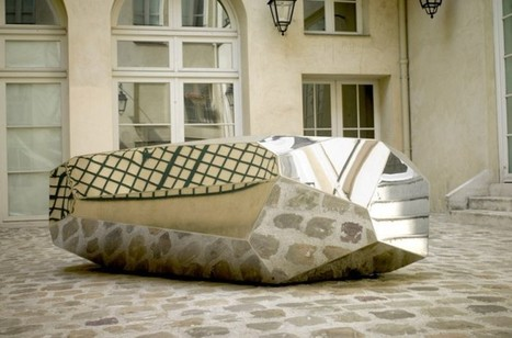 RockGiant: Enormous, Mirror-Polished, Stainless Steel Stone Sculpture | Inspiring Creativity | Scoop.it