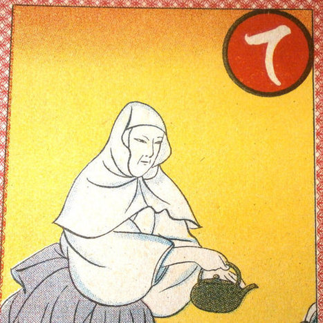 Vintage Japanese Game Card Mother of Urifu Tamotsu Mother of Samurai General in 1337 Karuta Set 9 From 1937   Etsy Today   Scoop.it