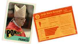 Here's your official Pope Francis I rookie card | Not so scientific! | Scoop.it