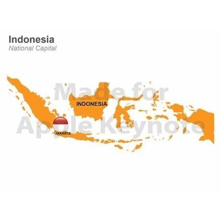 Map of Indonesia for Apple Keynote Presentation | Apple Keynote Slides For Sale | Scoop.it