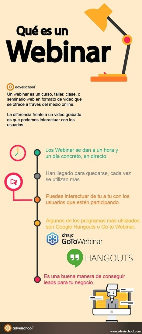 Qué es un Webinar #infografia #infographic #education | Las TIC en el aula de ELE | Scoop.it