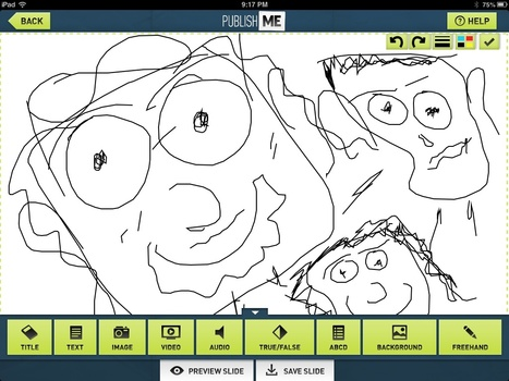 Free-hand drawing with PublishME | Powerpoint for the iPad. | Scoop.it