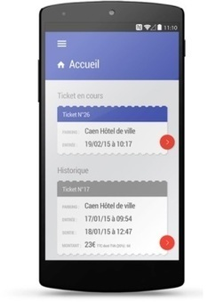 NFC : le ticket de parking se dématérialise à Caen | la NFC, ça vous gagne | Scoop.it