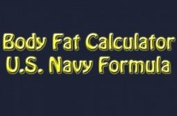 Body fat calculator   My Dream Shape!   Diet And Recipes   Scoop.it
