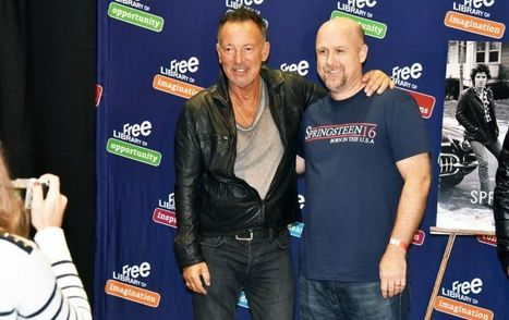 Bruce Springsteen meets fans at the Free Library of Philadelphia - Metro | Bruce Springsteen | Scoop.it