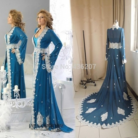 Caftan soirée et robe de mariage de luxe | caftanboutique | Scoop.it