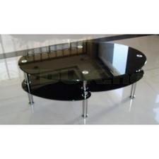 Italian Furniture Camilla Black Glass Coffee Table | Glass Coffee Tables | Scoop.it