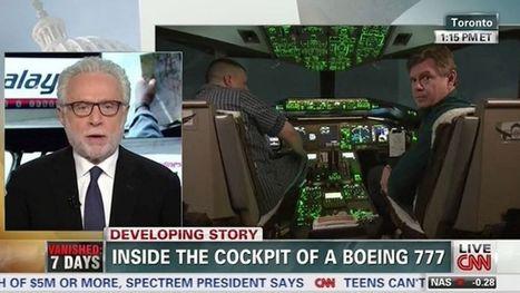CNN dope ses audiences avec le «mystère du vol MH370» | DocPresseESJ | Scoop.it