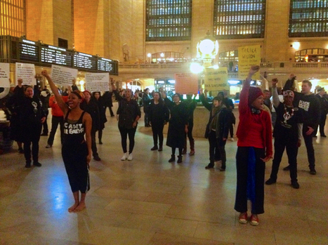 New collective injects performance art into Black Lives Matter in New York - Waging Nonviolence | Performance Art Is Live | Scoop.it