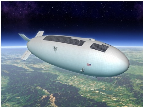 How Airships Are Set To Revolutionize Science - MIT Technology Review | News | Scoop.it