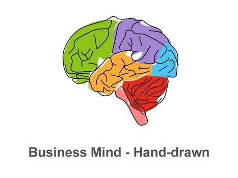 Download Business Mind - Editable Hand-drawn Apple Keynote Slides | Apple Keynote Slides For Sale | Scoop.it