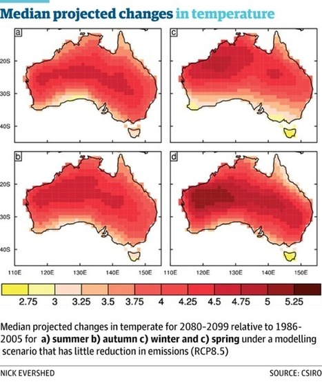 #Climate change will hit #Australia harder than rest of world, study shows | Messenger for mother Earth | Scoop.it