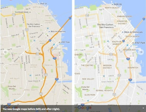 Google Maps and What Makes a Neighborhood Interesting | Tech and urban life | Scoop.it