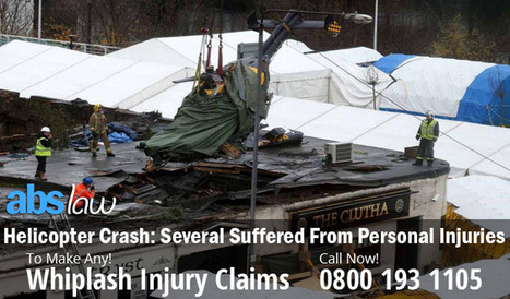Helicopter Crash: Several Suffered From Personal Injuries | My Website / Blog | Do you want to Make a claim against Road Accident | Scoop.it
