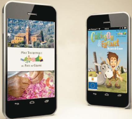 Deux applications mobiles pour l'office de tourisme du Pays de Grasse   etourisme - infos   Scoop.it