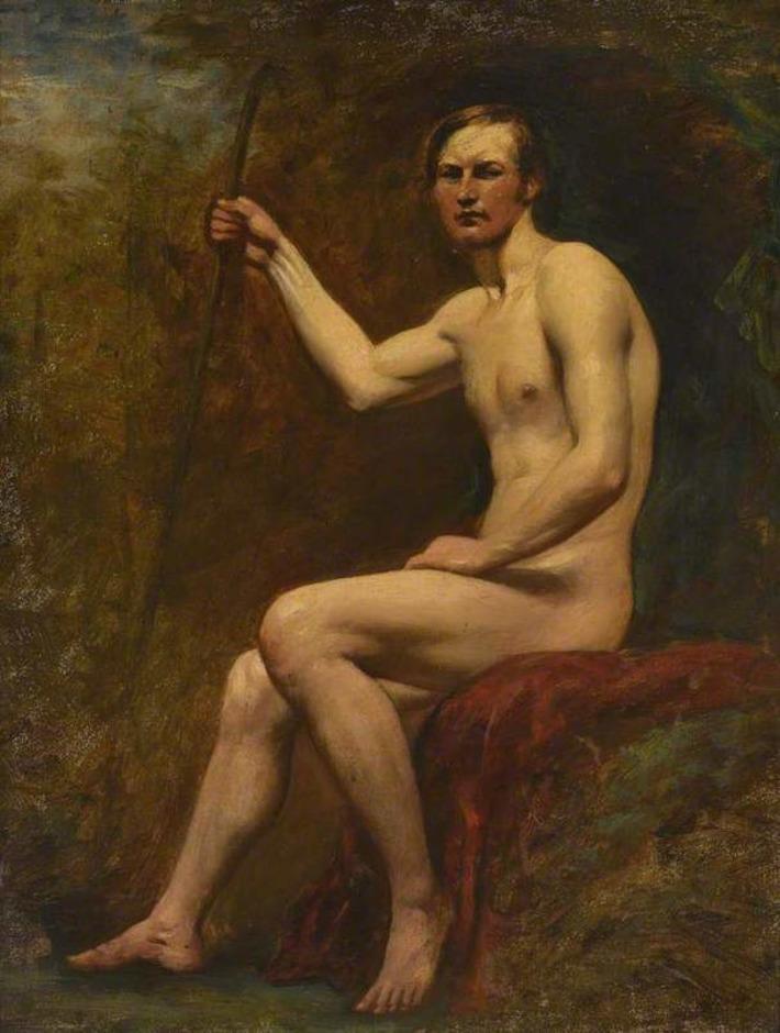c. 1830: Guardsman Higgins by William Etty | Sex History | Scoop.it