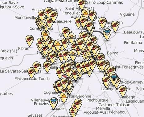 Bouchons à Toulouse  le 10 janvier 2013 en temps réels | La lettre de Toulouse | Scoop.it