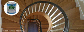 Custom Staircase High Gloss Paint | House Painting | Scoop.it