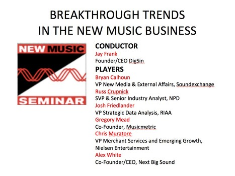BREAKTHROUGH TRENDS IN THE MUSIC INDUSTRY | Audio Industry Trends, Physical Consumption vs. Digital Consumption | Scoop.it
