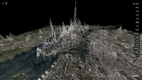 invisible cities visualizes social networks around the world   The Internet of our Future   Scoop.it