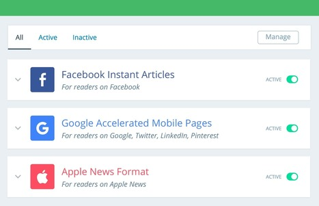 Facebook Instant Articles, Google AMP , Apple news Format - le plugin ultime qui regroupe tout pour Wordpress | Veille SEO - Référencement web - Sémantique | Scoop.it