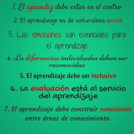 Siete principios para el aprendizaje | Educacion, ecologia y TIC | Scoop.it