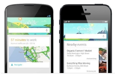 Google Now available on iOS devices starting today | Mobile Commerce and Devices | Scoop.it