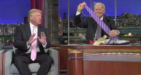 Crowd Cheers As David Letterman Trumps The Donald - 'These Ties Are Made, Where?' | Community Village Daily | Scoop.it