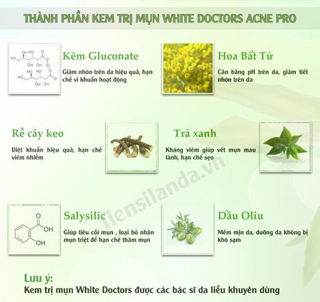 Kem trị mụn White Doctors được các bác sĩ Khuyên Dùng | Tổng hợp | Scoop.it
