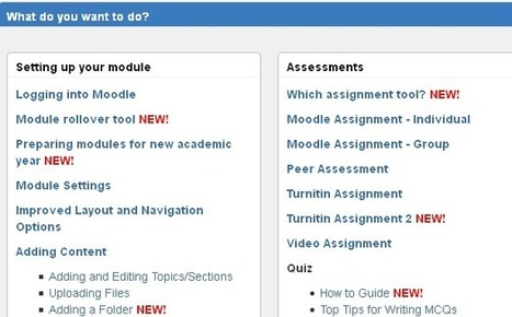 Updating your Moodle modules | Moodle-iscious! | Scoop.it