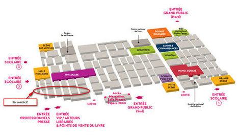 Le Numérique au Salon du livre de Paris 2014 | LA PLANETE DES ALPHAS | Scoop.it