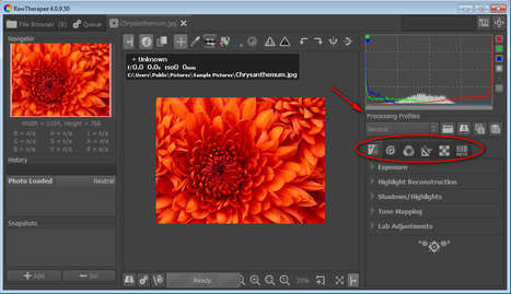Free Raw Image Editing and Batch Conversion with RawTherapee | Time to Learn | Scoop.it